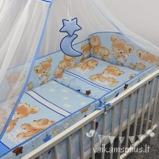 Apsauga lovytei Ankras 360cm aplink visą lovytę