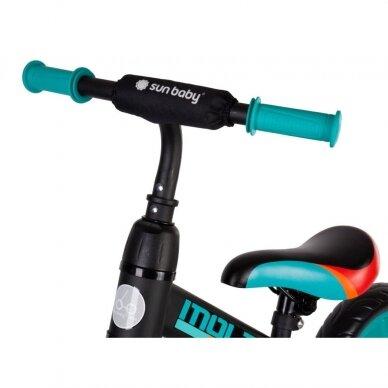 Balansinis dviratukas 3in1 MOLTO LEGGERO 3