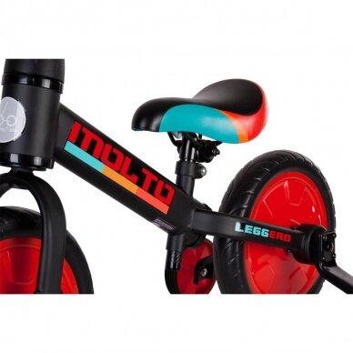 Balansinis dviratukas 3in1 MOLTO LEGGERO  5