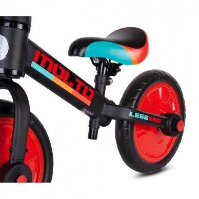Balansinis dviratukas 3in1 MOLTO LEGGERO  7