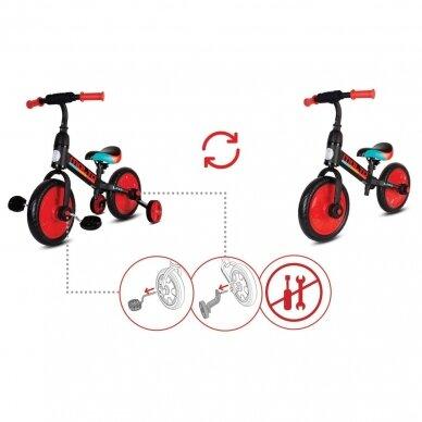 Balansinis dviratukas 3in1 MOLTO LEGGERO  4