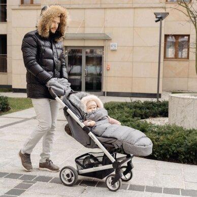 Pirštinės - mova su vilna vežimėliui ar rogėms Womar Zaffiro 3