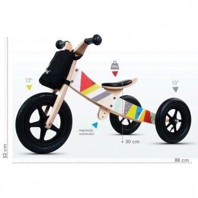Triratukas - balansinis dviratukas 2in1 SunBaby TWIST 7