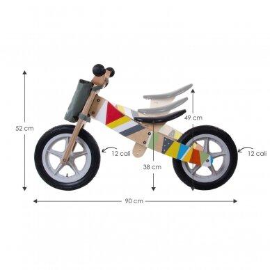 Triratukas - balansinis dviratukas 2in1 SunBaby TWIST 8